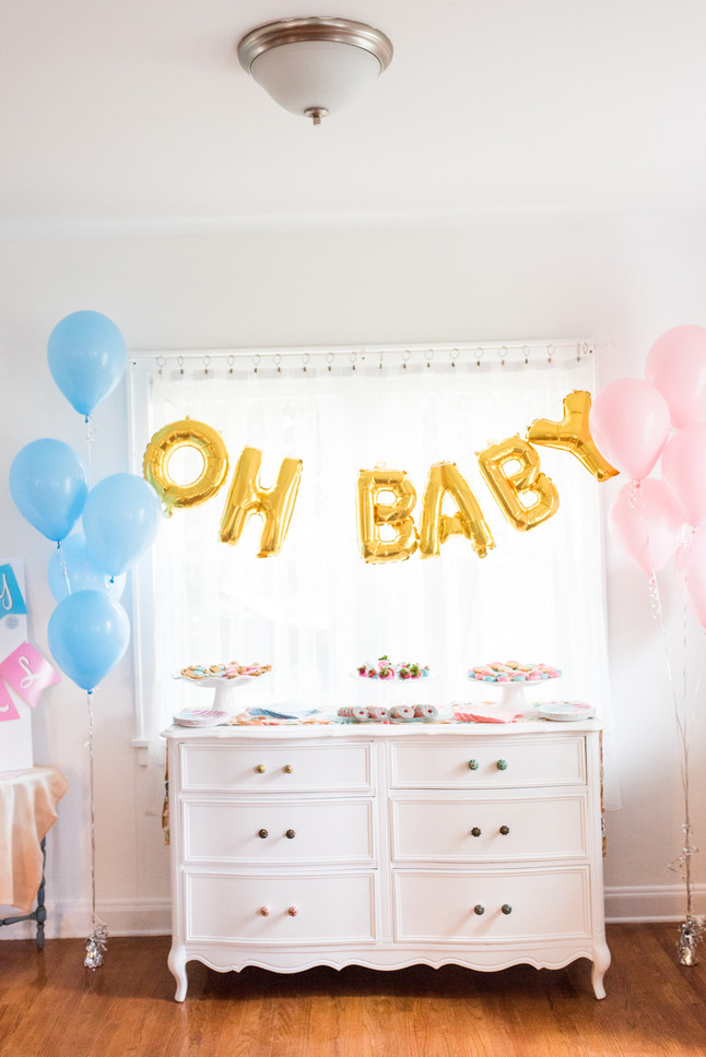 gender reveal party! its a....