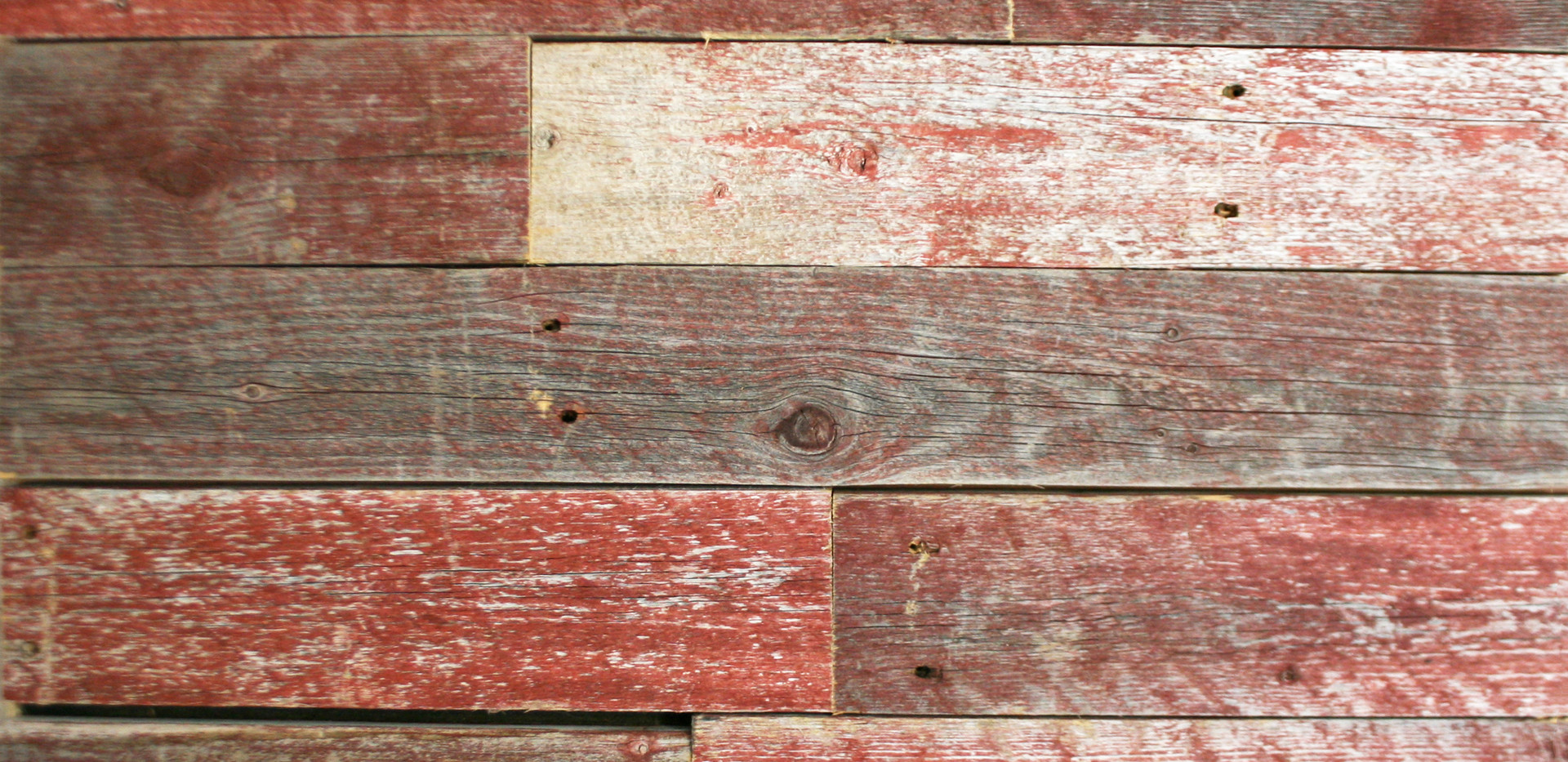 Faded Red Urban Wood
