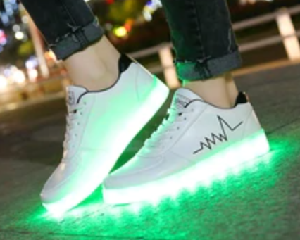 LED schoenen vanaf 10 Euro!