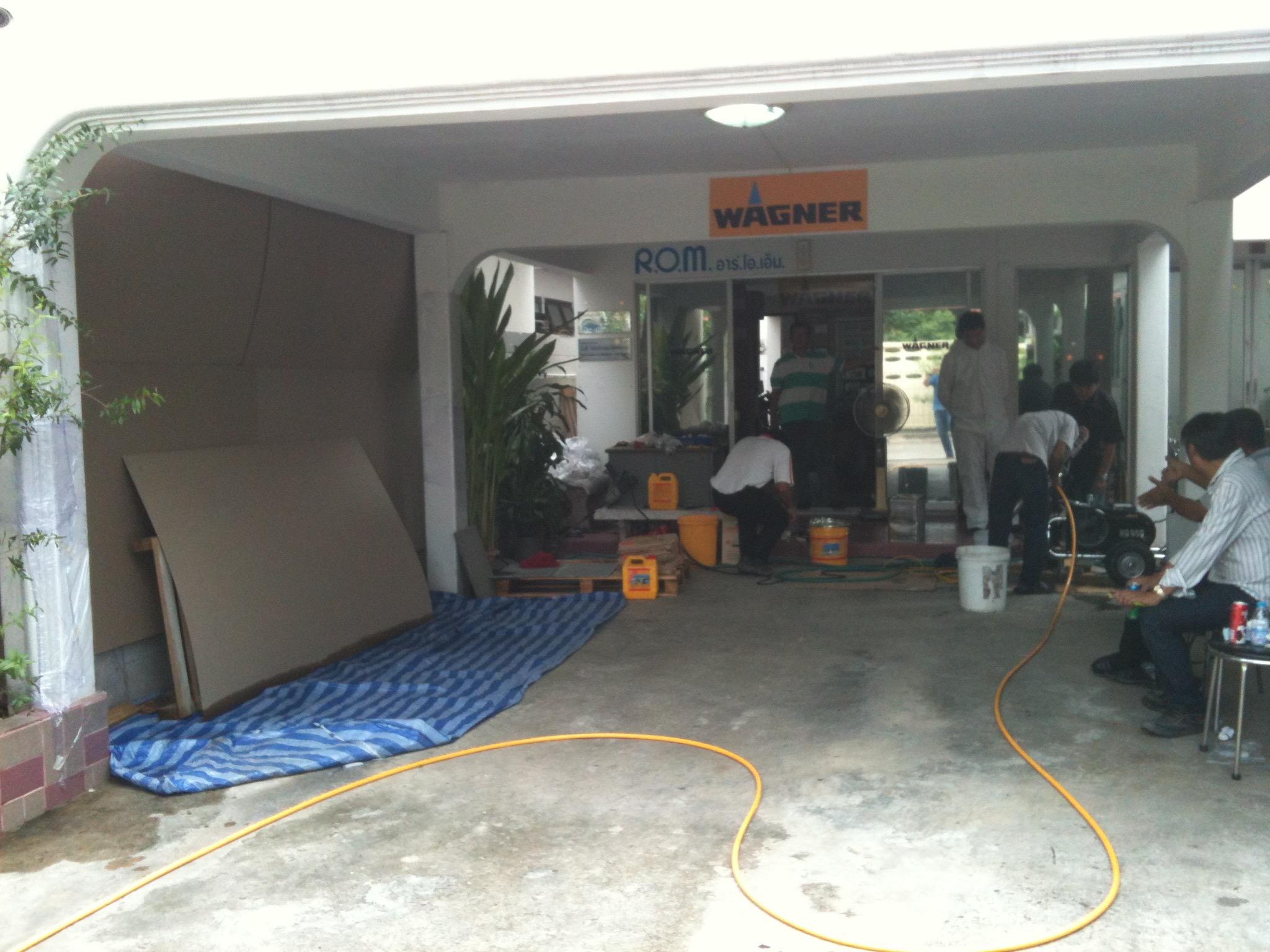 1. Area Preparation