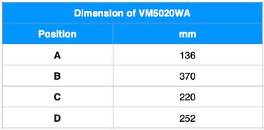 VM5020WA Dim ENG.png