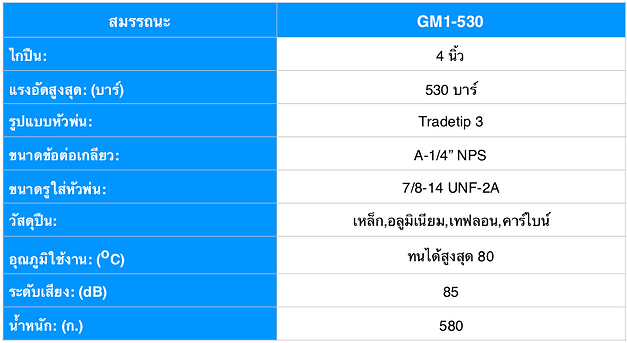 PROTEC GM-1 สเปค ไทย.png