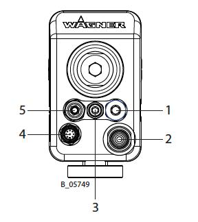 GA5000EA Rear Connection Internal Versio