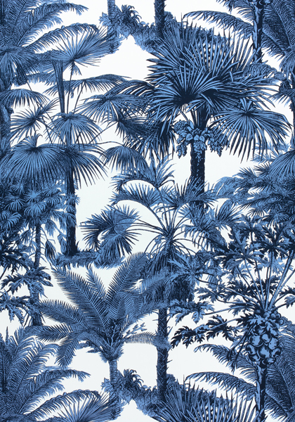 Palm Botanical Navy F910100