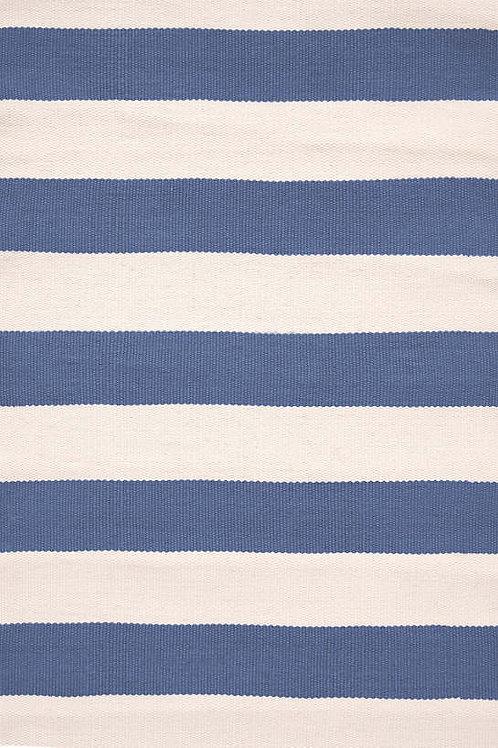 Catamaran Stripe Denim/ Ivory Rug