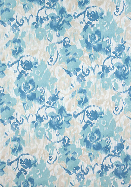 Waterford Floral Aqua and Blue F924343