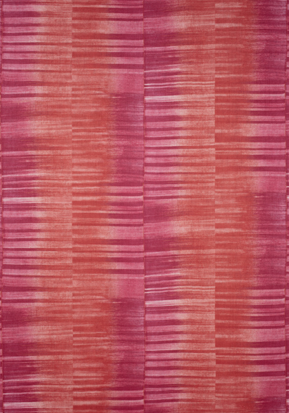 Mekong Stripe Pink and Coral F910087
