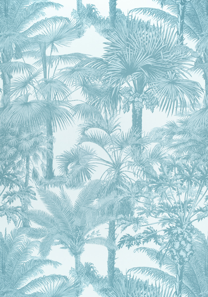 Palm Botanical Spa Blue F910104