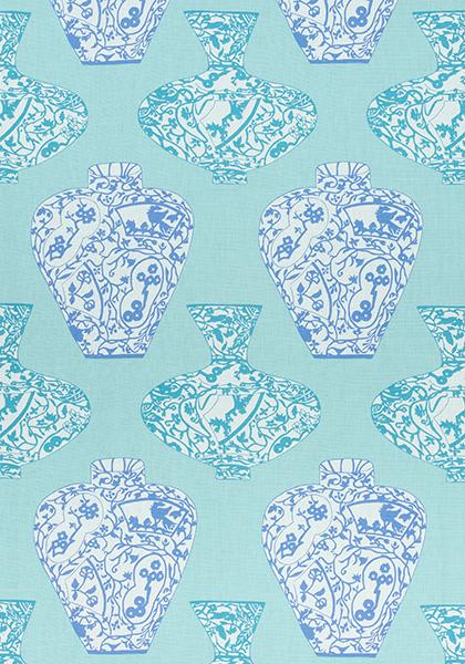 Imari Vase Turquoise F913126