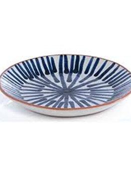Blue Porto Salad Plate