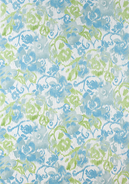Waterford Floral Aqua and Green F924342