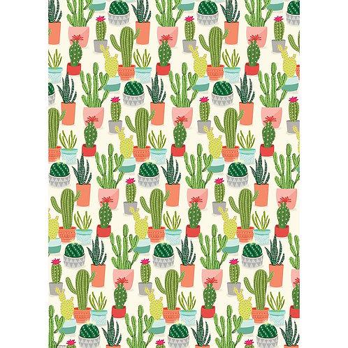 Cacti Gift Wrap