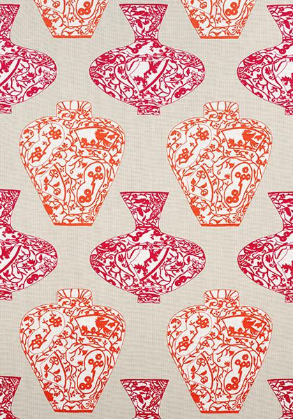 Imari Vase Pink and Orange F913123