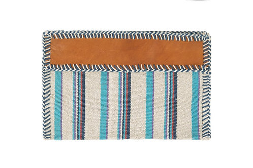 Turquoise Naomi Zip Pouch