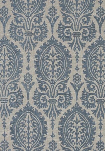 Sir Thomas Embroidery Slate Blue W772571