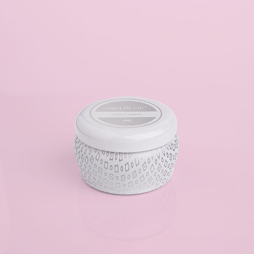 Mini Tin White Volcano Candle