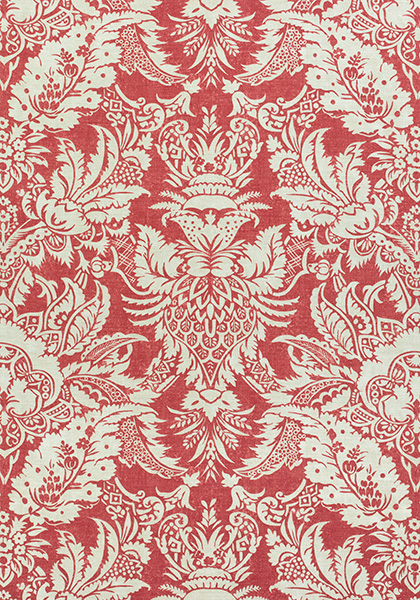 Chardonnet Damask Red F972584