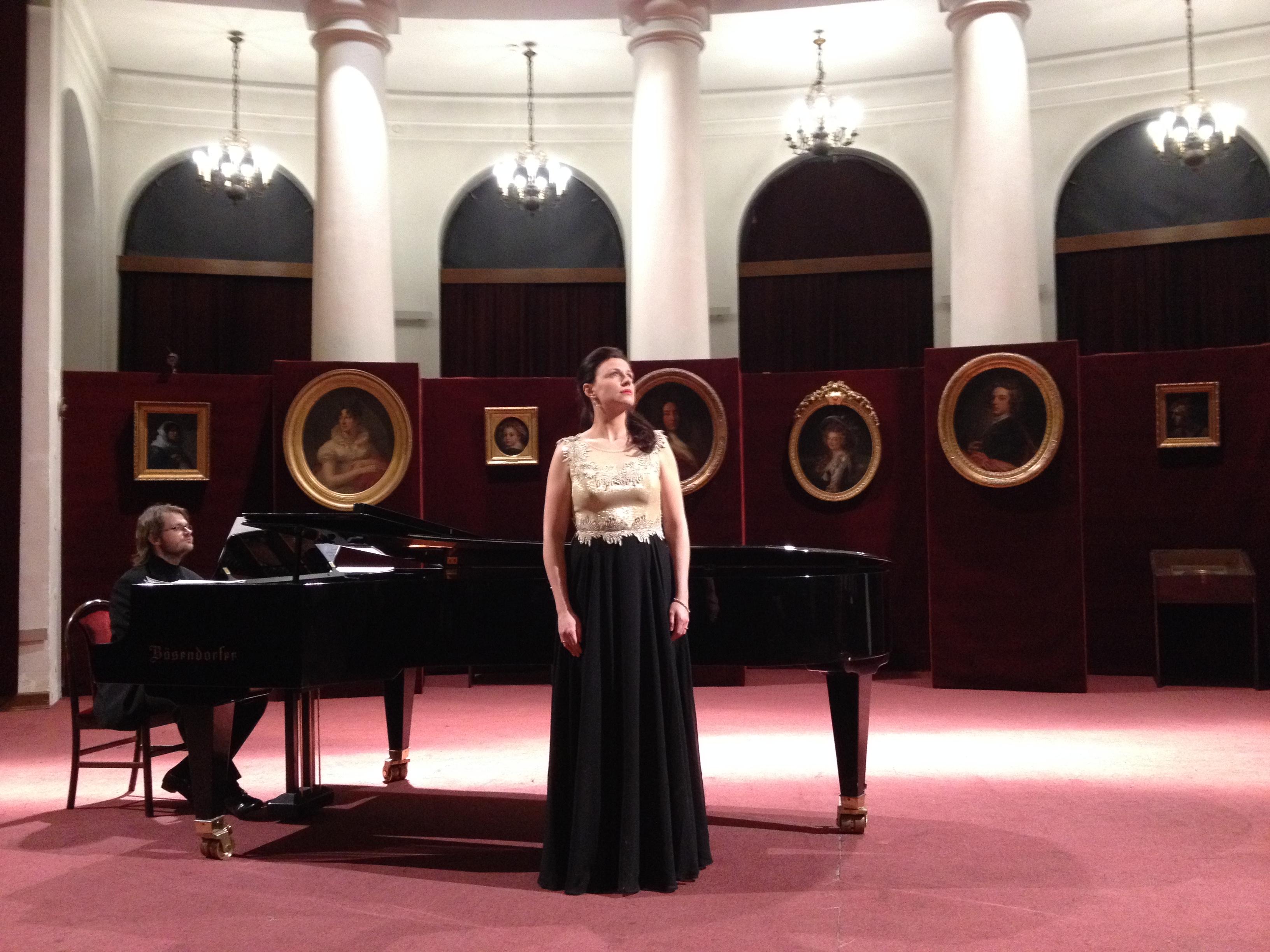 Warsaw recital