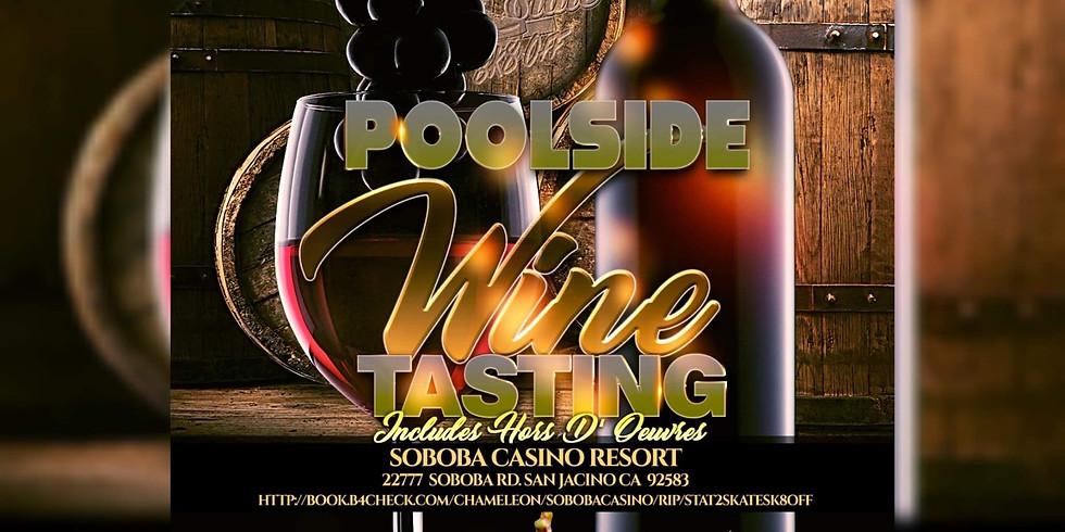 State2State Poolside Wine Tasting Event