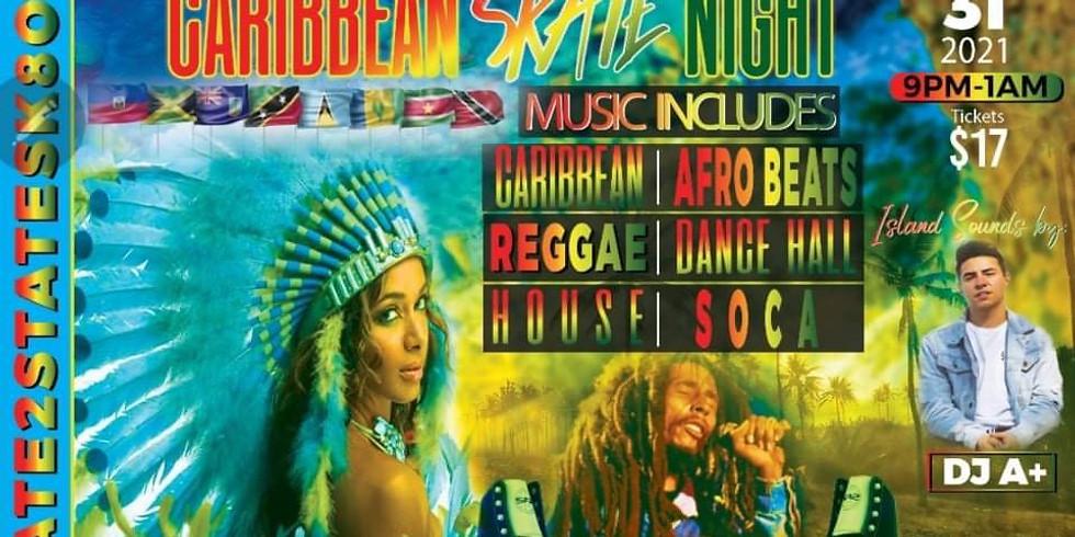Caribbean Skate Night