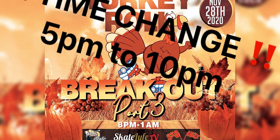 Break Out Pt 3 Gobble Turkey Roll Edition