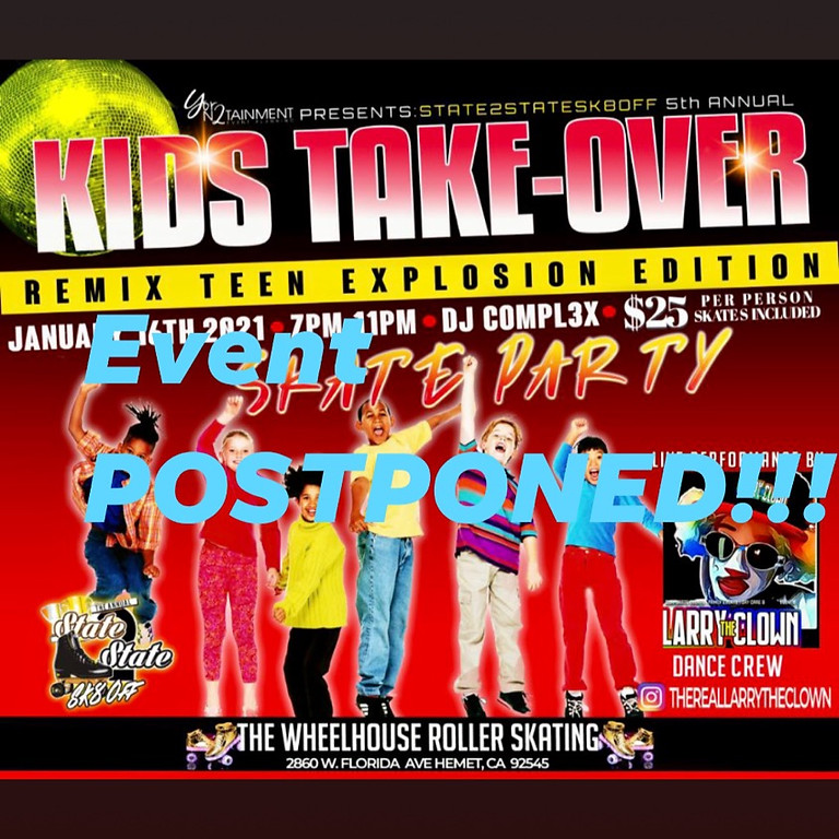5th Annual Kid's Take Over Sk8 Event