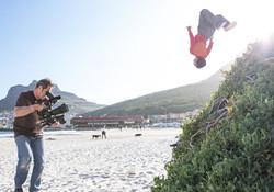 Duelin on a SABC shoot