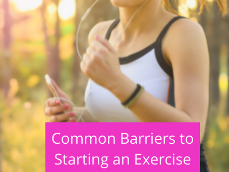 Common Barriers to Starting an Exercise Program