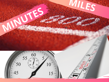 How to Measure Walking/Running…Steps, Miles or Minutes?