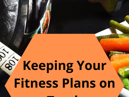Keeping Your Fitness Plans on Track
