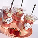 Strawberry Cupcake Jars