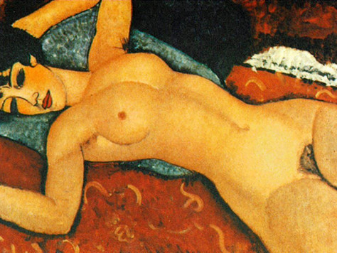 A nude by Amadeo Modigliani #Great Caesar's Ghost