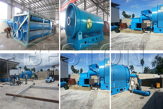 Starting Of Pyrolysis Plastic to Diesel Machines Will help