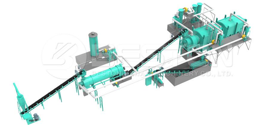 carboniser machine