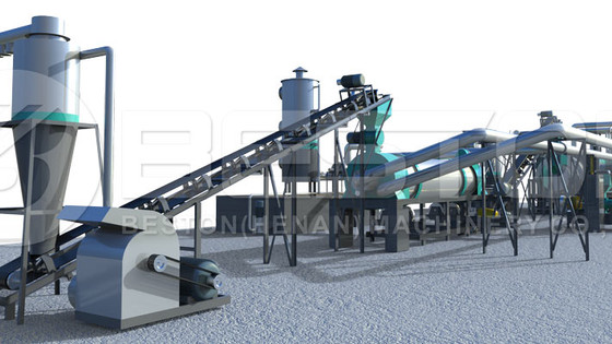 Breakdown Of The Coconut Shell Charcoal Production Line