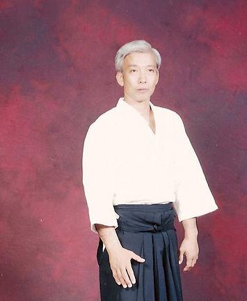 Moriteru Ueshiba.