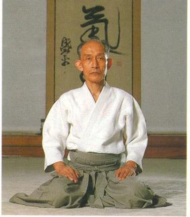 Kisshomaru Ueshiba (1921-1999).