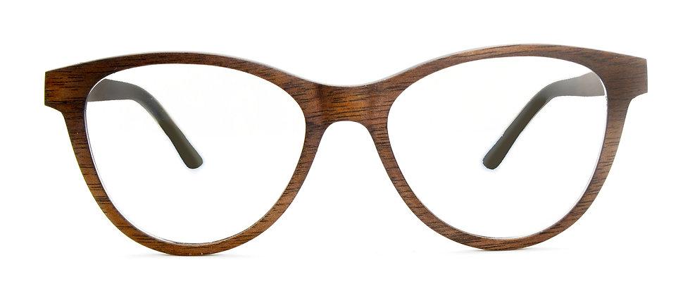 Lou optique walnut