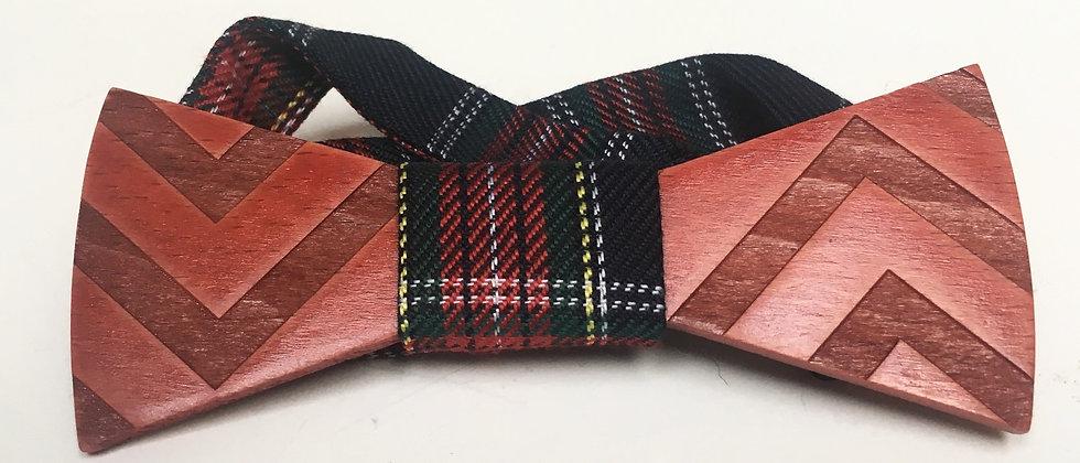 Noeud pap' Scottish rouge