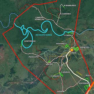 Mapa da Fazenda