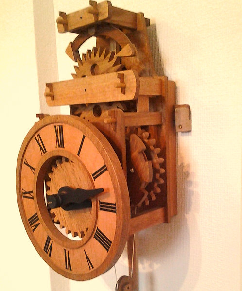 Traditional Irish Farmhouse Clock