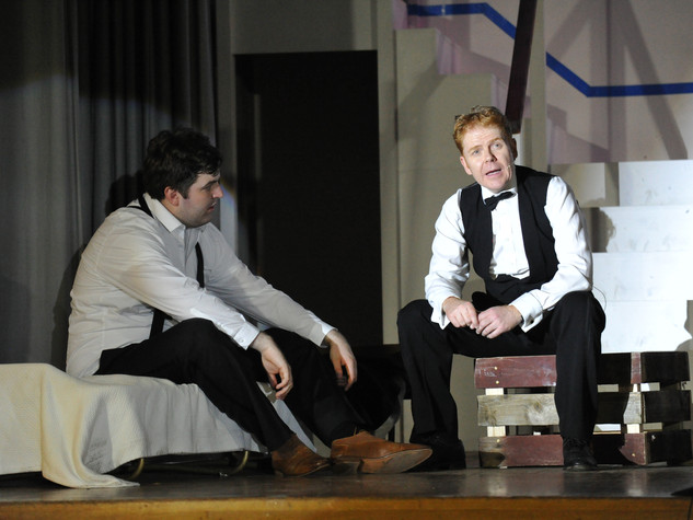 Anything Goes | Billy Crocker & Moonface Martin | Edge Hill Players 2018