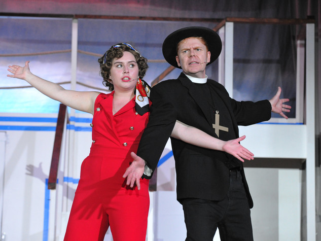 Anything Goes | Reno Sweeney & Moonface Martin | Edge Hill Players 2018