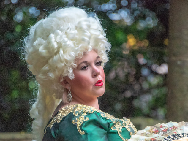 Ursula Currall as Lina Lamont  - Edge Hill Players