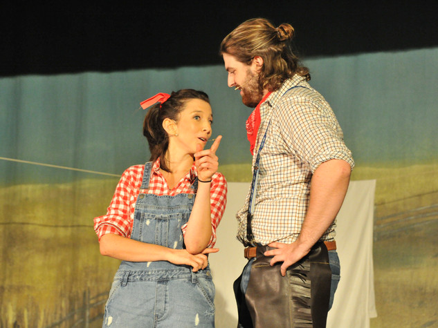 Oklahoma | Laurey & Curly | Edge Hill Players