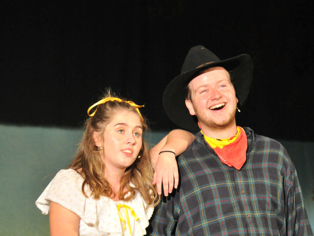 Oklahoma | Jud & Curly | Ado Annie & Will Parker | Edge Hill Players