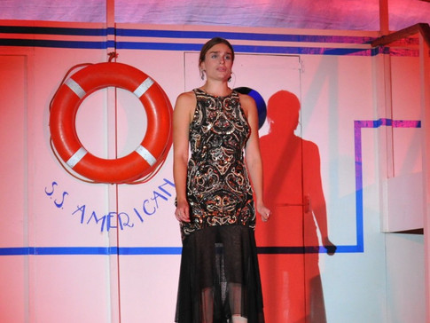 Anything Goes | Hope Harcourt  | Edge Hill Players 2018