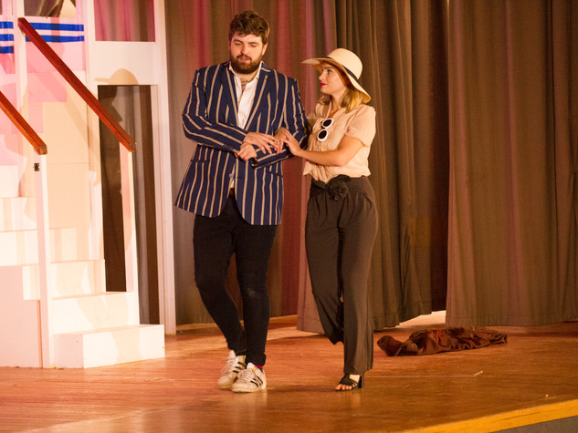 Anything Goes | Billy Crocker & Hope Harcourt | Edge Hill Players 2018