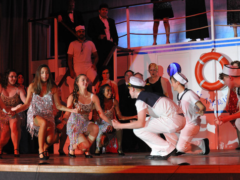 Anything Goes | Blow Gabriel Blow | Edge Hill Players 2018