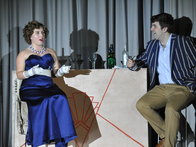 Anything Goes | I Get A Kick Out Of You | Reno Sweeney & Billy Crocker | Edge Hill Players 2018